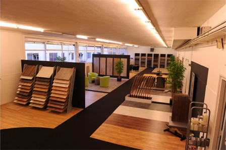 Vloermarkt showroom