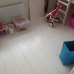 dekkend witte vloer