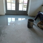 Vloer egaliseren voor PVC vloer